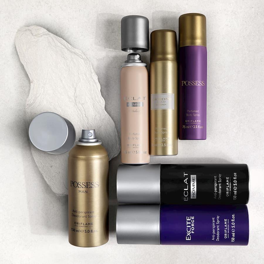 Sprays Corporais Perfumados