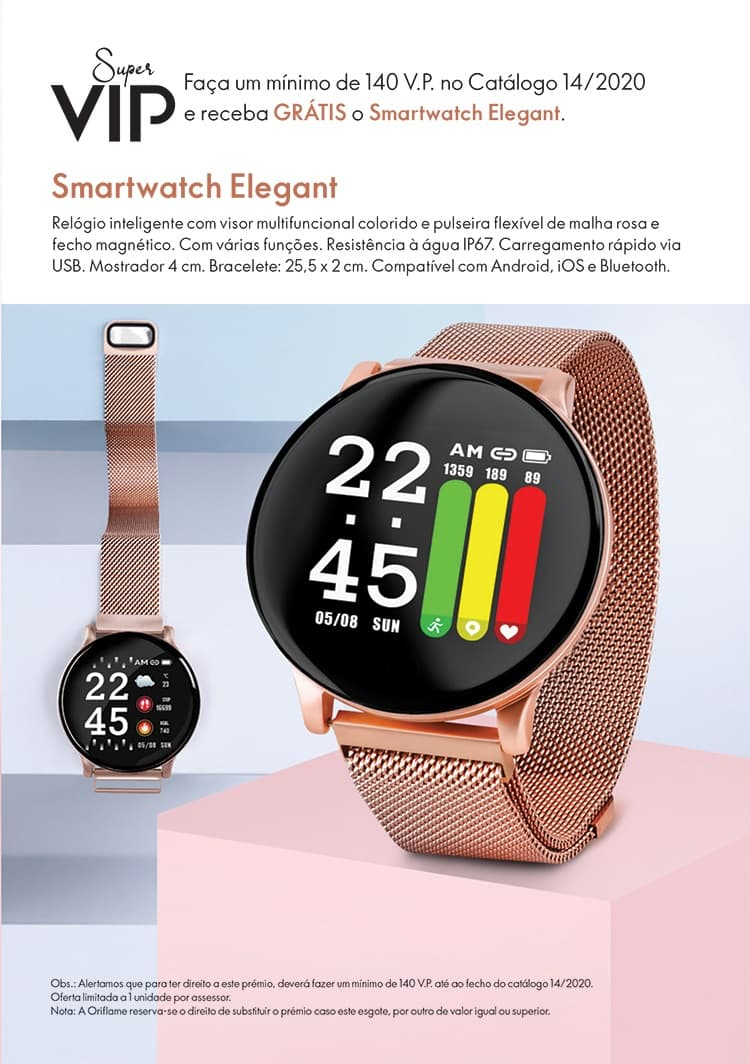 Smartwatch Elegant Oriflame