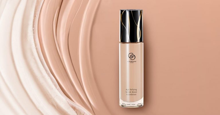 Base de Cor Age Defying Serum Boost Giordani Gold