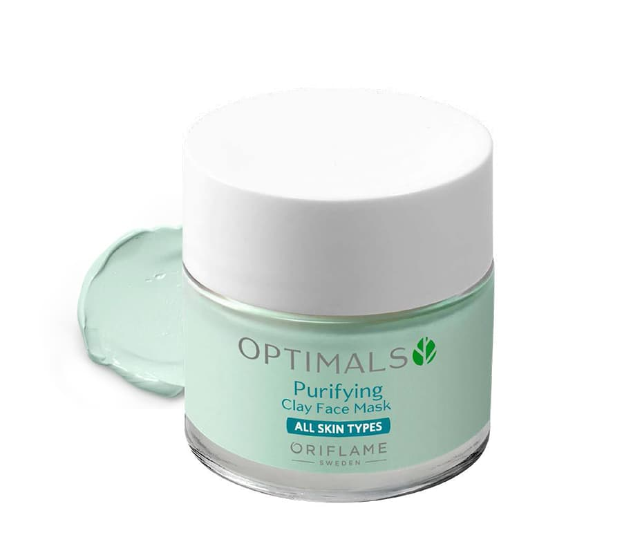 Máscara Facial Purificante de Argila Optimals