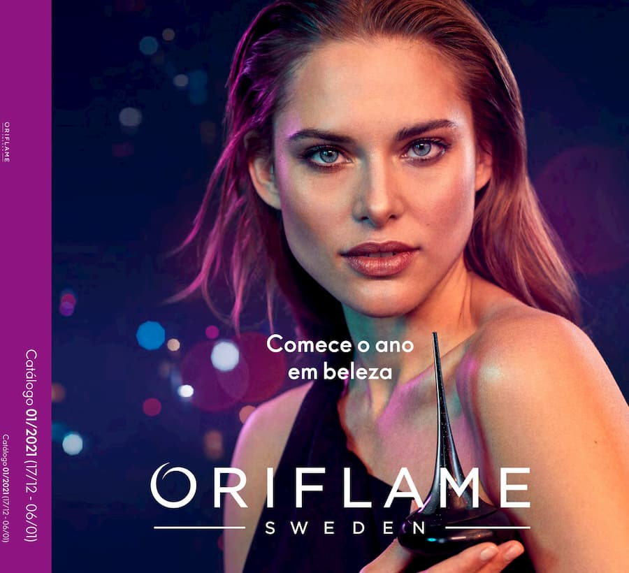 Catálogo 01 de 2021 da Oriflame