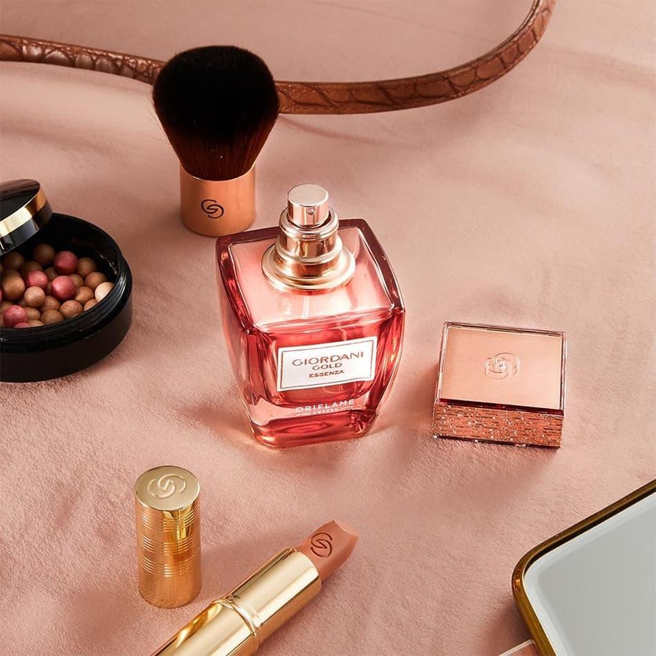 Frasco do perfume