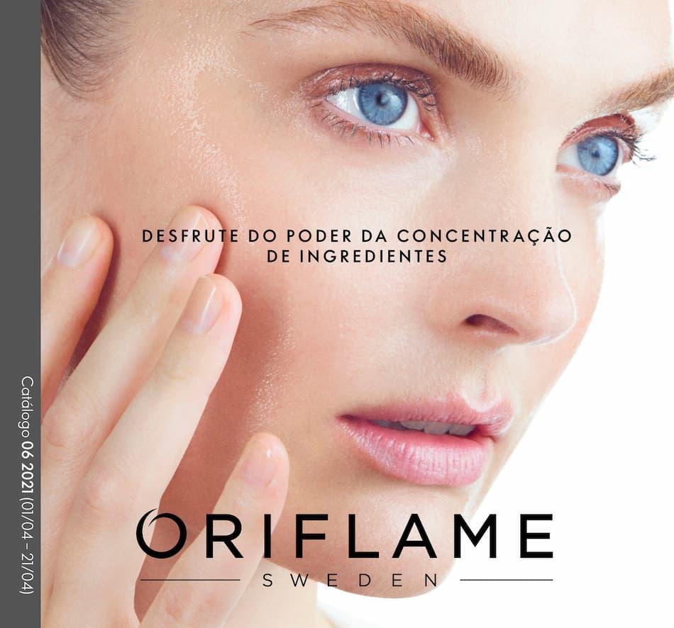 Capa do Catálogo 6 de 2021 da Oriflame