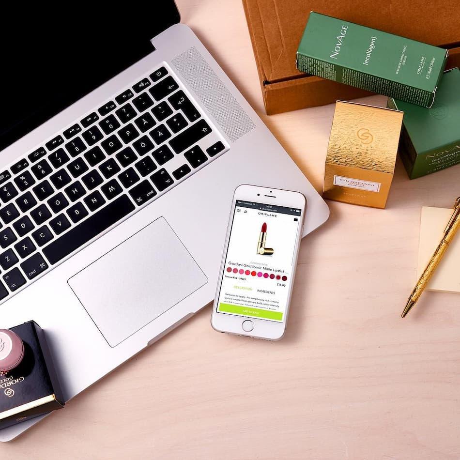 Купите онлайн, чтобы сэкономить на косметических продуктах Oriflame