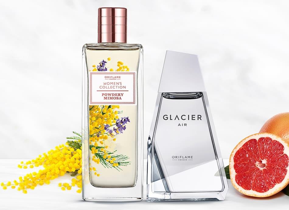 Eau de Toilette Powdery Mimosa + Glacier Air