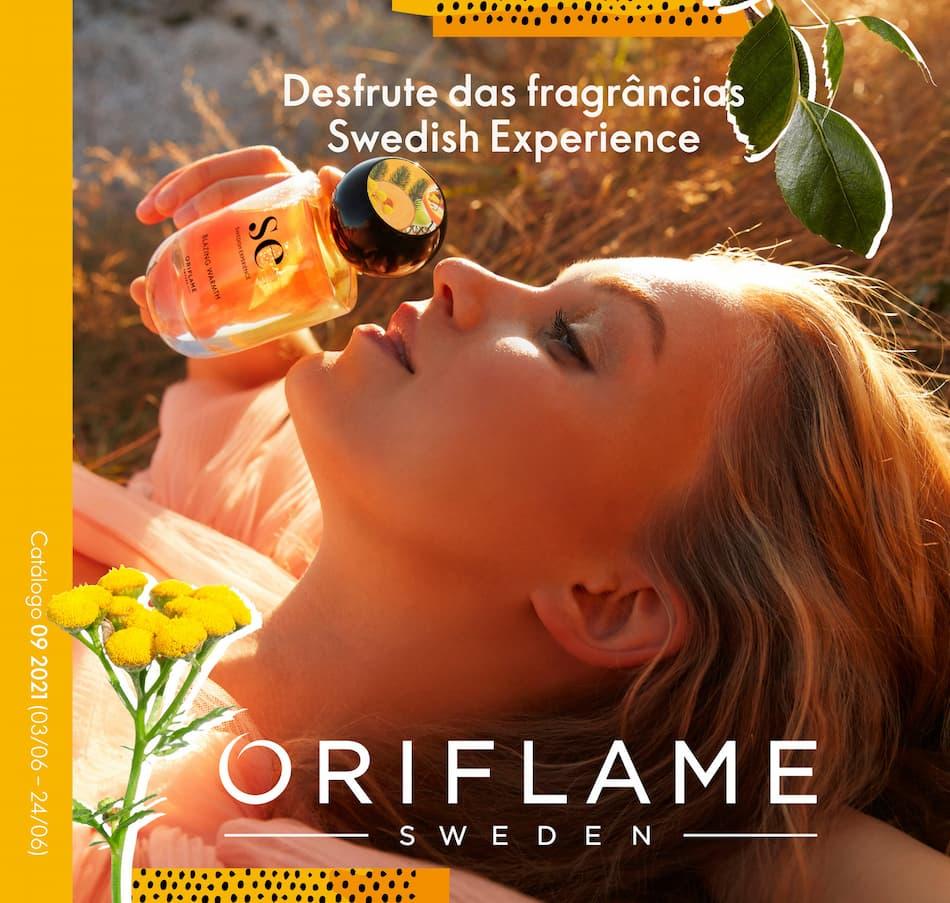 Capa do Catálogo 9 de 2021 da Oriflame
