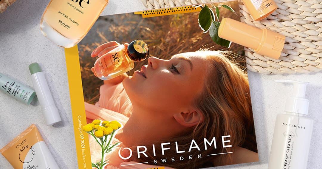 Catálogo 9 de 2021 da Oriflame