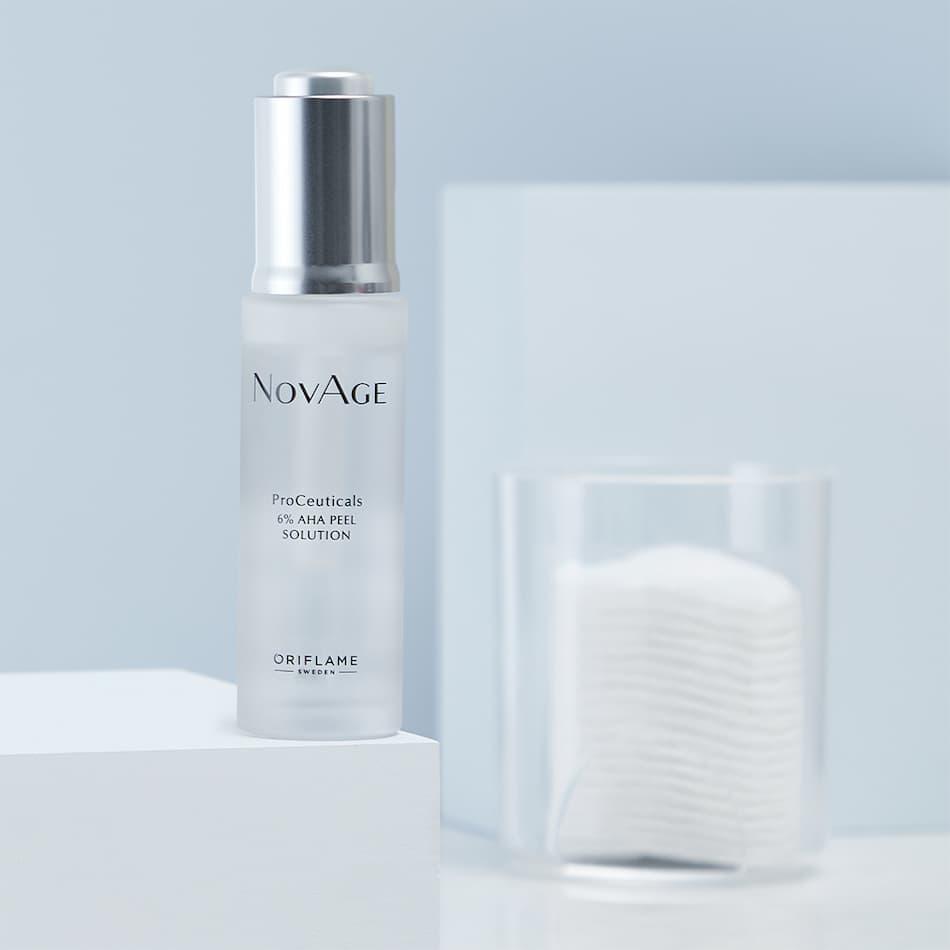 Solução Peel 6% AHA ProCeuticals NovAge