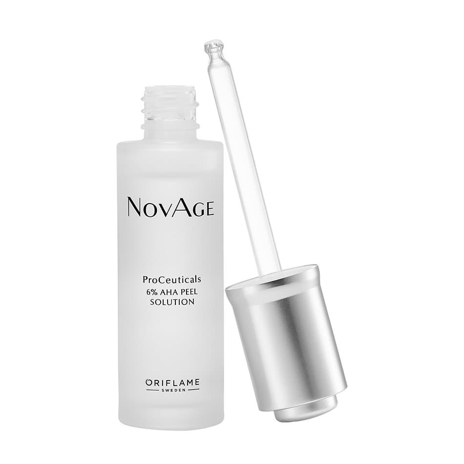 Solução Peel 6% AHA ProCeuticals NovAge Oriflame
