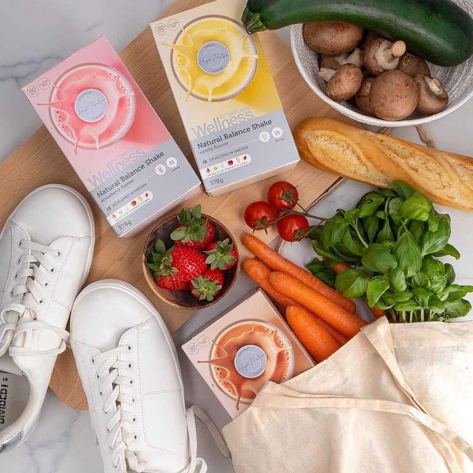 Batidos e alimentação saudável