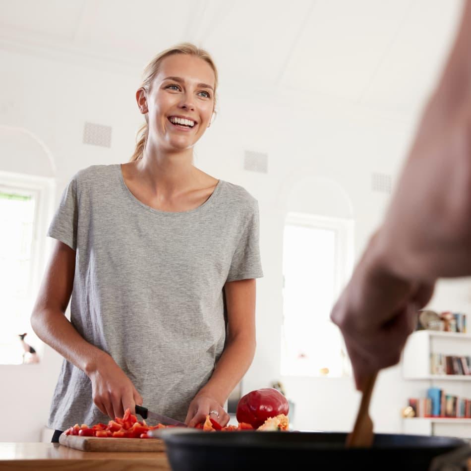 Preparação de Alimentação Saudável